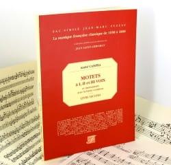 Motets A 1, 2 et 3 Voix et Instruments Livre 2 CAMPRA laflutedepan