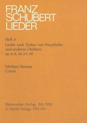 Lieder nach Texten Mayrhofer und anderen Dichtern. Transposition - laflutedepan.com