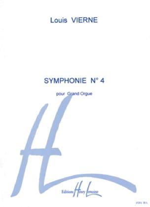 Symphonie N°4 Opus 32 - VIERNE - Partition - Orgue - laflutedepan.com