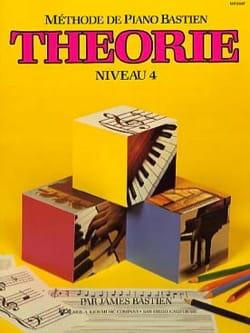 Méthode de Piano Bastien - Théorie Niveau 4 BASTIEN laflutedepan