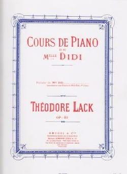 Théodore Lack - Preludes of Miss Didi Opus 85 - Partition - di-arezzo.com