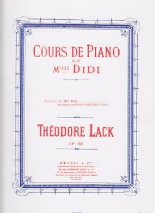 Préludes de Melle Didi Opus 85 - Théodore Lack - laflutedepan.com