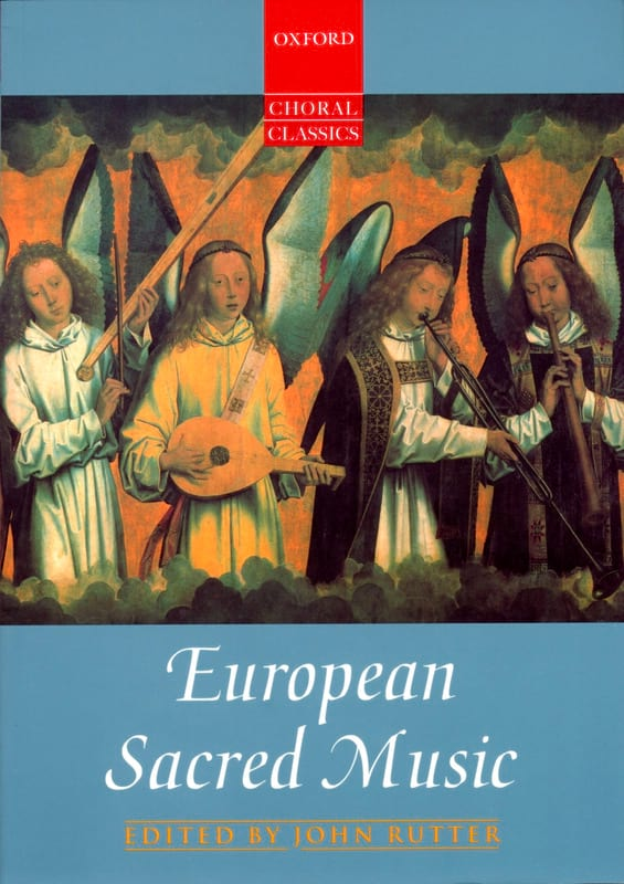 European Sacred Music - Partition - Chœur - laflutedepan.com