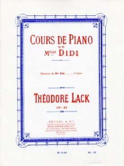 Exercices de Mlle Didi Opus 85 Livre 1 Théodore Lack laflutedepan