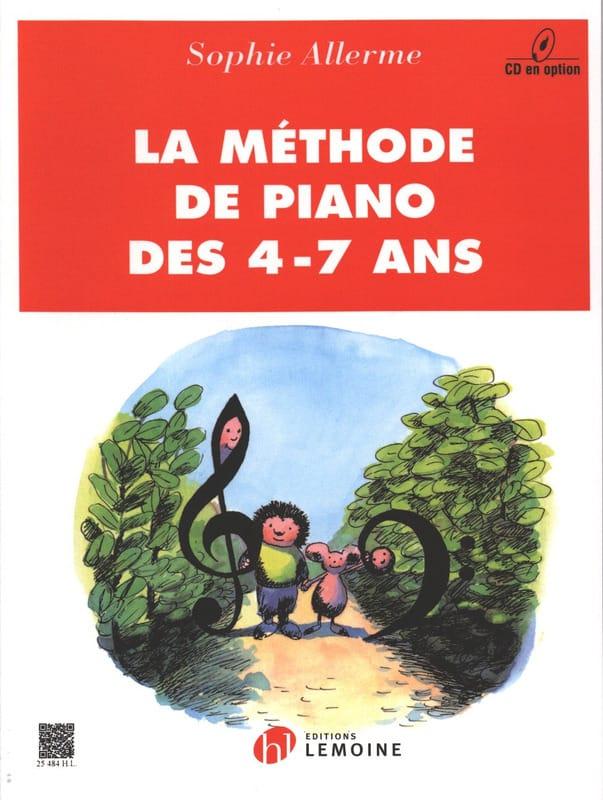 Méthode de Piano 4-7 Ans - Partition - Piano - laflutedepan.com