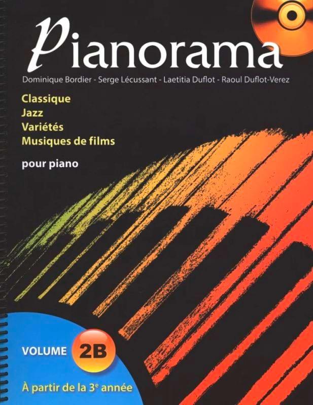 Pianorama 2B - Partition - Piano - laflutedepan.com