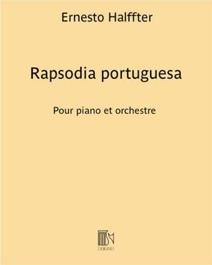 Rapsodia Portuguesa - Ernesto Halffter - Partition - laflutedepan.com