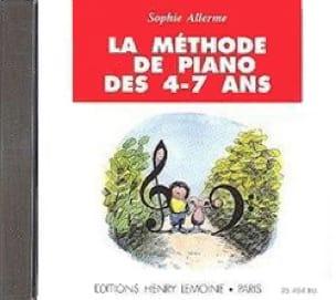 CD - Méthode de Piano 4-7 ans - Sophie Allerme - laflutedepan.com
