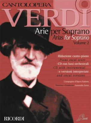 Arie Per Soprano. Volume 2 VERDI Partition Opéras - laflutedepan