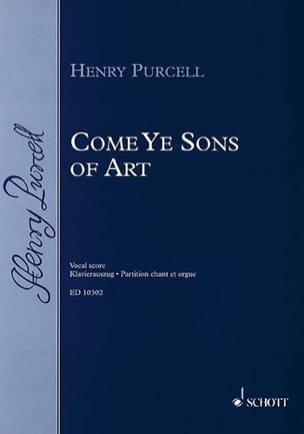 Come Ye Sons of Art 1694 PURCELL Partition Chœur - laflutedepan