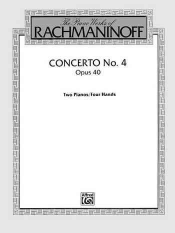Concerto Pour Piano N° 4 Opus 40 - RACHMANINOV - laflutedepan.com