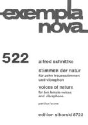 Voices of Nature - SCHNITTKE - Partition - Chœur - laflutedepan.com
