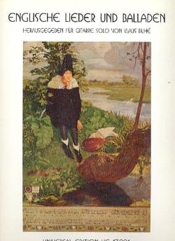 Englische Lieder und Balladen Partition laflutedepan