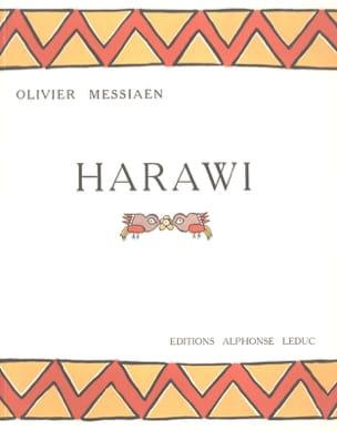 Harawi MESSIAEN Partition Mélodies - laflutedepan