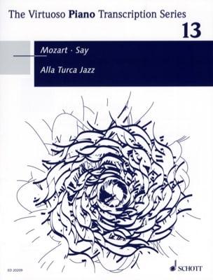 Alla Turca Jazz SAY / MOZART Partition Piano - laflutedepan