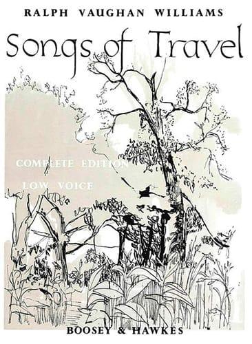 Songs Of Travel. Voix Grave - WILLIAMS VAUGHAN - laflutedepan.com