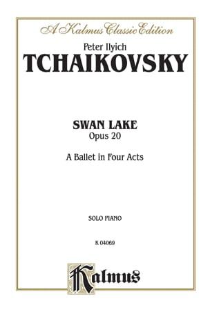 Le Lac Des Cygnes Opus 20 TCHAIKOVSKY Partition Piano - laflutedepan