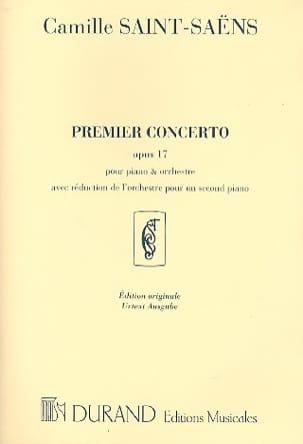 Concerto pour piano n° 1 Opus 17 SAINT-SAËNS Partition laflutedepan