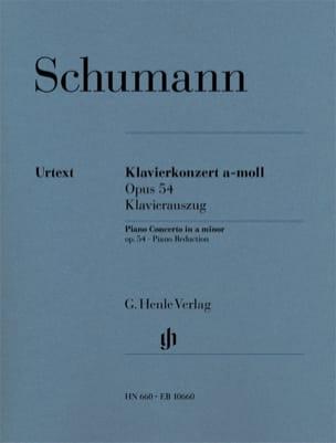 Concerto Pour Piano En la Mineur Opus 54 SCHUMANN laflutedepan