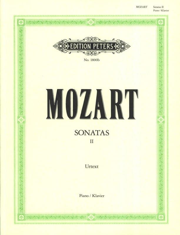 Sonates - Volume 2 - MOZART - Partition - Piano - laflutedepan.com