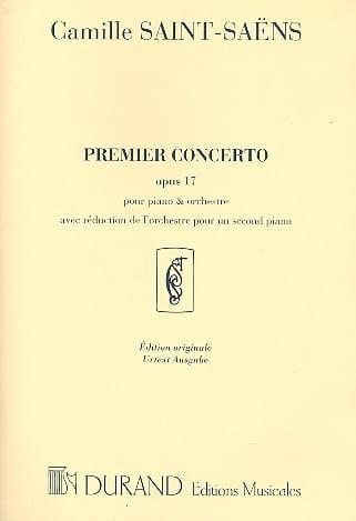 Concerto pour piano n° 1 Opus 17 - SAINT-SAËNS - laflutedepan.com