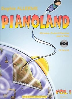 Pianoland Volume 1 Sophie Allerme Partition Piano - laflutedepan