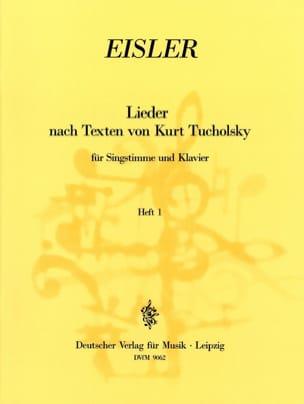 Lieder Nach Texten Von Kurt Tucholsky Volume 1 laflutedepan