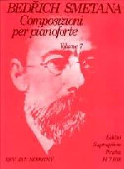 Composizioni Per Pianoforte Volume 7 SMETANA Partition laflutedepan