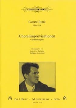 37 Choralimprovisationen Gerard Bunk Partition Orgue - laflutedepan