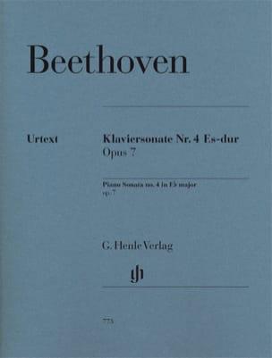 Sonate pour piano n° 4 Mi Bémol Majeur Opus 7 BEETHOVEN laflutedepan