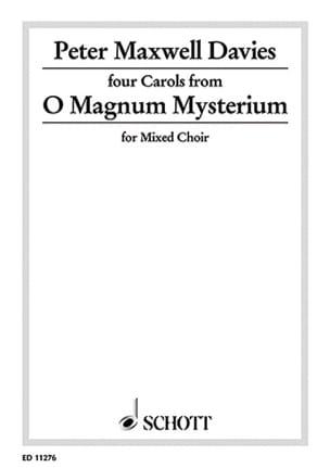 O Magnum Mysterium Davies Peter (Sir) Maxwell Partition laflutedepan