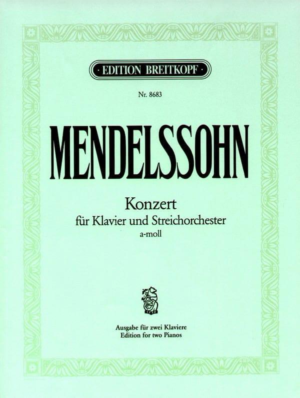 Concerto la Mineur MWV O 2 - MENDELSSOHN - laflutedepan.com
