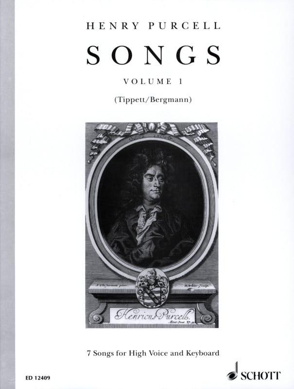 Songs, Bd 1. Voix Haute - PURCELL - Partition - laflutedepan.com