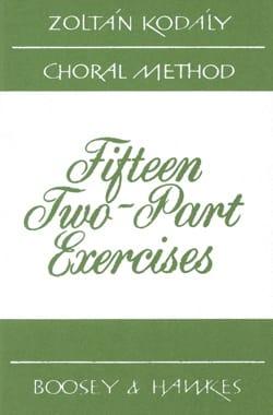 15 2-Parts Exercises KODALY Livre Pédagogie - laflutedepan