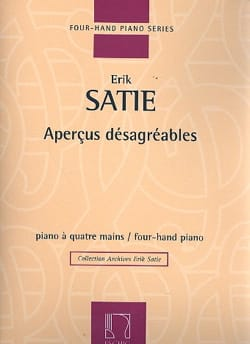 Aperçus Désagréables. 4 Mains SATIE Partition Piano - laflutedepan