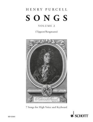 Songs, Bd 2 - PURCELL - Partition - Mélodies - laflutedepan.com