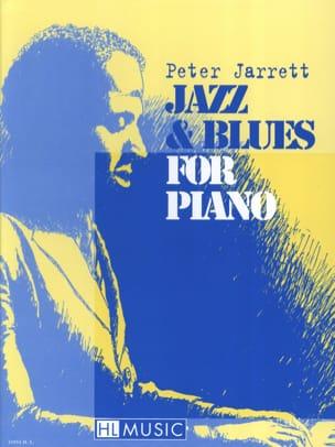 Jazz & Blues Peter Jarrett Partition Piano - laflutedepan
