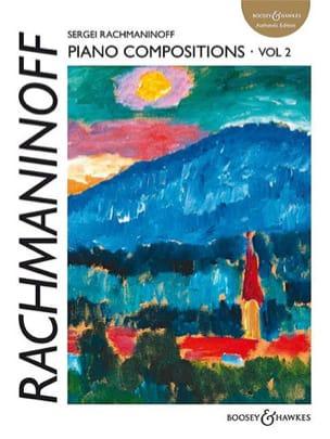 Piano Compositions. Volume 2 RACHMANINOV Partition laflutedepan