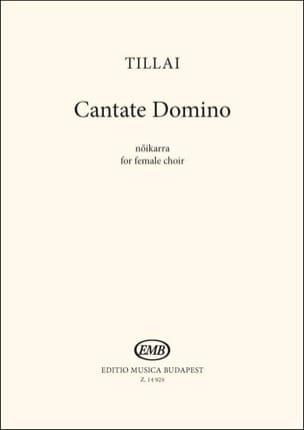 Cantate Domino Aurél Tillai Partition Chœur - laflutedepan