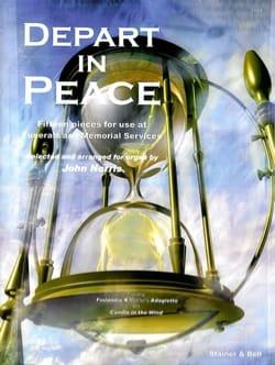Depart In Peace - Partition - Orgue - laflutedepan.com