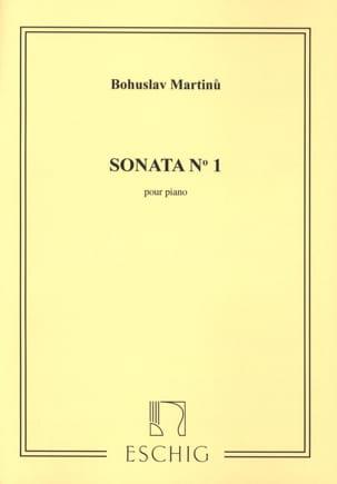 Sonate n° 1 MARTINU Partition Piano - laflutedepan