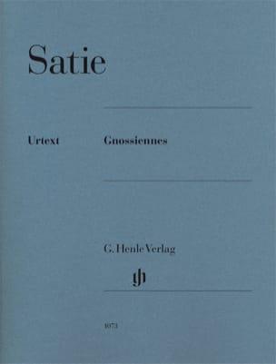 Gnossiennes SATIE Partition Piano - laflutedepan