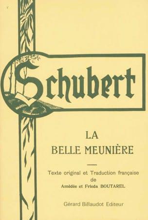 La Belle Meunière SCHUBERT Partition Mélodies - laflutedepan