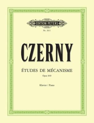 30 Etudes de Mécanisme Opus 849 CZERNY Partition Piano - laflutedepan