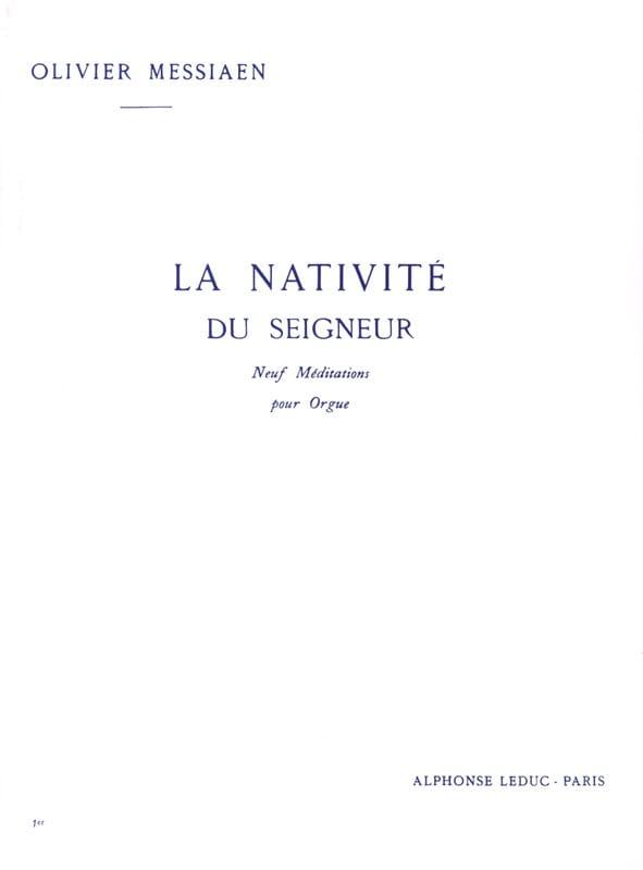 La Nativité du Seigneur. Volume 1 - MESSIAEN - laflutedepan.com