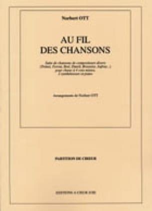 Au Fil des Chansons - Norbert Ott - Partition - laflutedepan.com