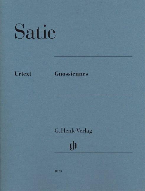 Gnossiennes - SATIE - Partition - Piano - laflutedepan.com