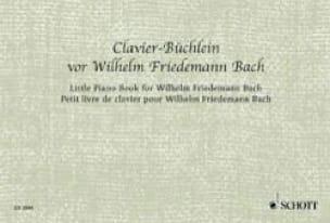 Bach-Büchlein für Clavier - Johann S Bach - laflutedepan.com