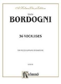 36 Vocalises Mezzo Ou Baryton Giovanni Marco Bordogni laflutedepan