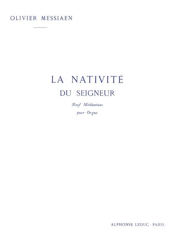 La Nativité du Seigneur. Volume 2 - MESSIAEN - laflutedepan.com